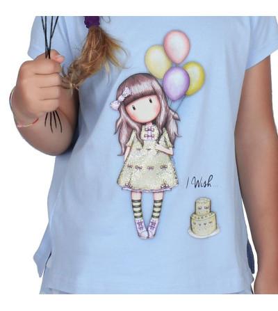 Pijama niña verano globos...