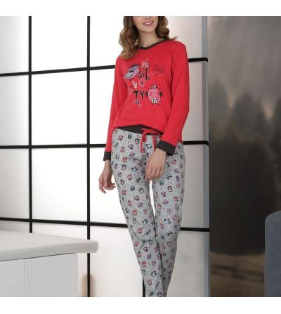 Pijama mujer invierno Buho