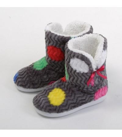 Zapatilla-bota de borreguito