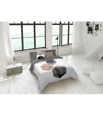 Funda Nórdica de 2 piezas , 3 en 150 algodón 100% y estampados digital minimalista
