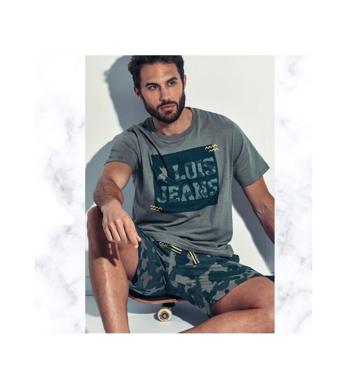 pijama hombre verano pantalon corto Lois